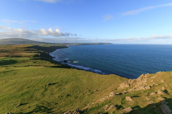 The Sea And Cliffs Of Exmoor