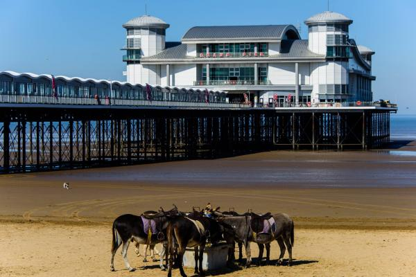 The New Pier At Weston Super Mare