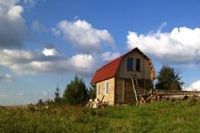 wooden cabin for 2 to 4