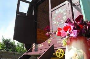 Ty Gwyneth gypsy wagon