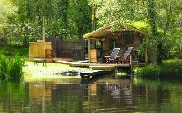 Cabin at Gwalia Farm
