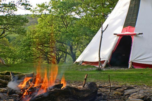 Enjoy an outdoor fire