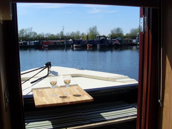 relax on the waterways