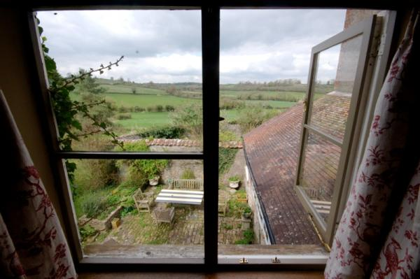 country views from bedroom