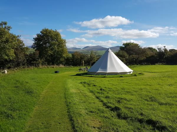 stunning location for glamping