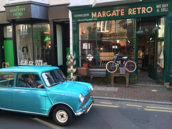 one of the owners retro shops