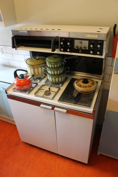 cooker with Catherine Holm cookware