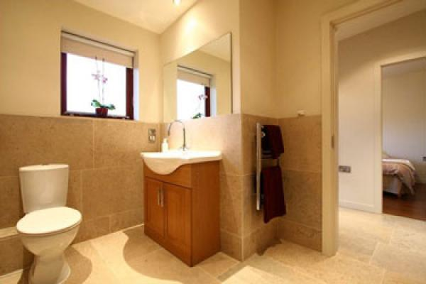 modern bathroom facilities