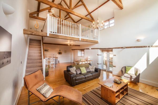 Fords Corft Cottages Old Workshop Interior