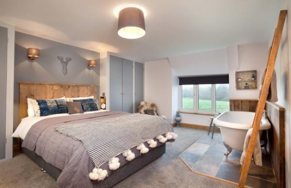 Croft Cottage bedroom