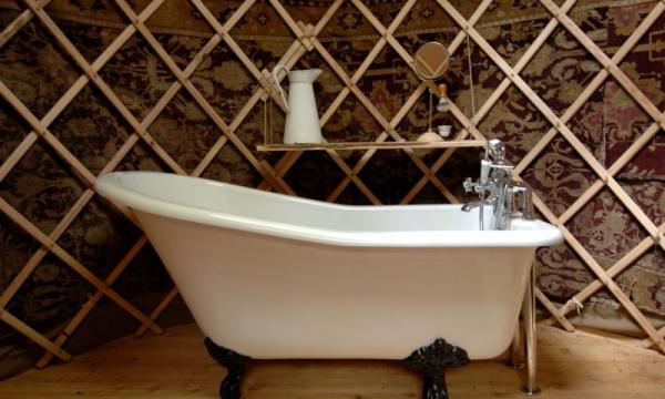 enjoy a bath in Willow